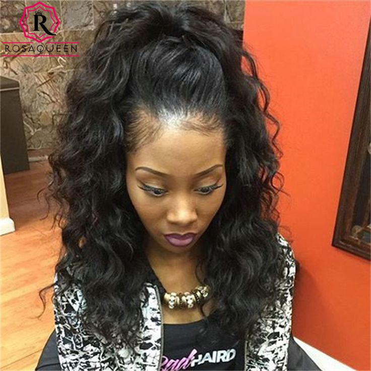 250% Density Lace Front Human Hair Wigs For Black Women Full Lace Human Hair Wigs Loose Wave Curly Brazilian Lace Front Wig