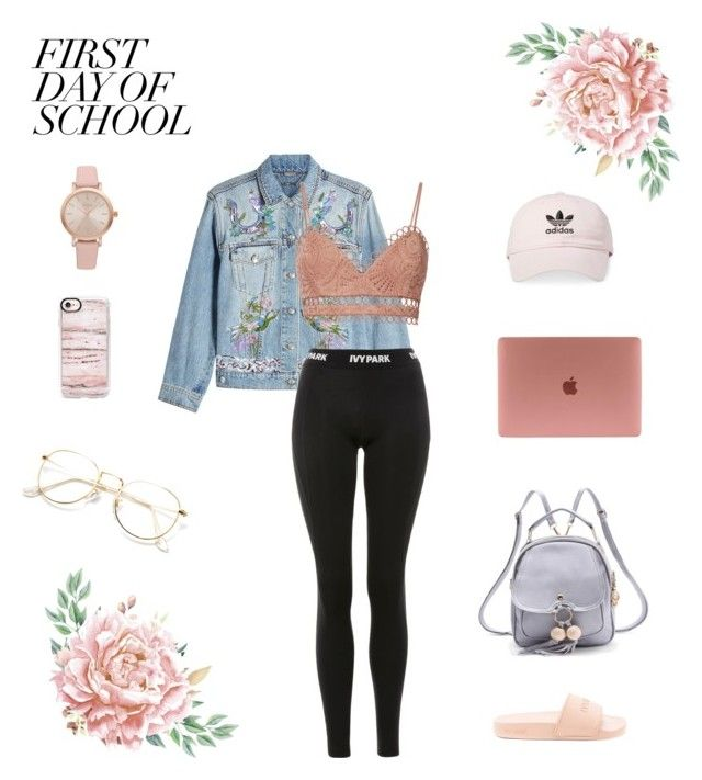"""Basic"" by molipaulwashere on Polyvore featuring adidas, Vivani, Alexander McQueen, Topshop, Ivy Park, WithChic, Zimmermann and Casetify"