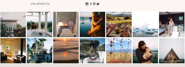 The Vista | Website Instagram Feed Design
