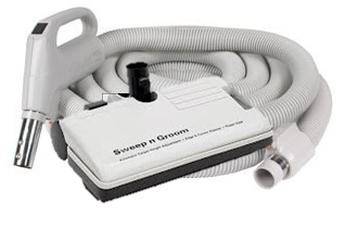 Deluxe Electric Pak-Central vacuum hose & tool packages $289.00 CAD