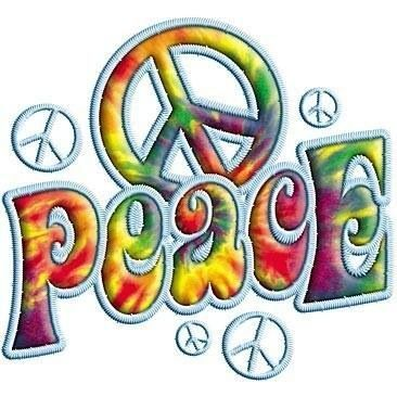 ☮ American Hippie Art ~ Peace Sign .. Groovy