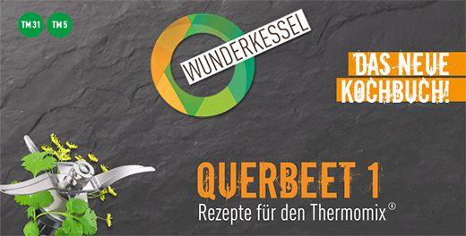 Keks Rezepte Cover Querbeet 1 Kochbuch für den Thermomix
