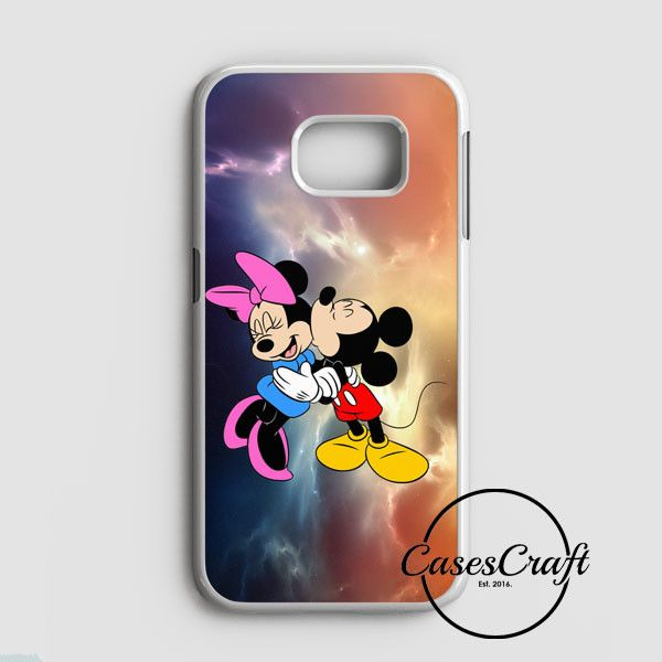 Mickey Mouse And Minnie Mouse Cute Couple Cartoon Samsung Galaxy S7 Case   casescraft