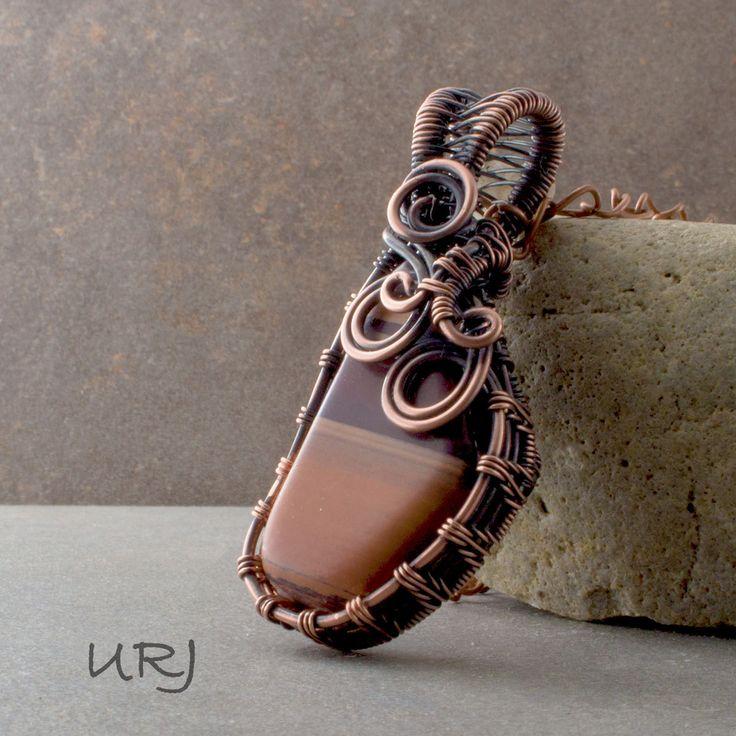 Unique Rabbit Jewellery - Zebra Coils, $55.00…Sold