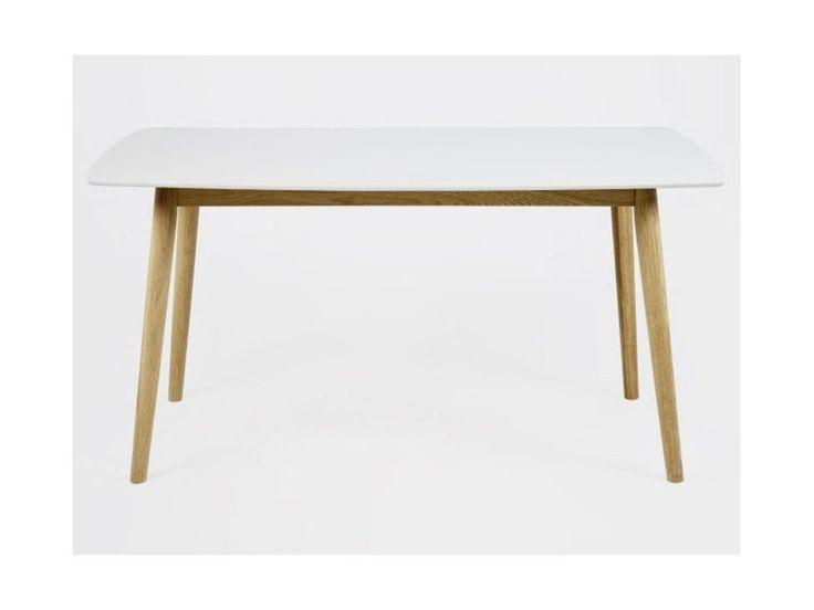 Stół Nagano biały 150x80cm — Stoły w Sklepie Mebelio™
