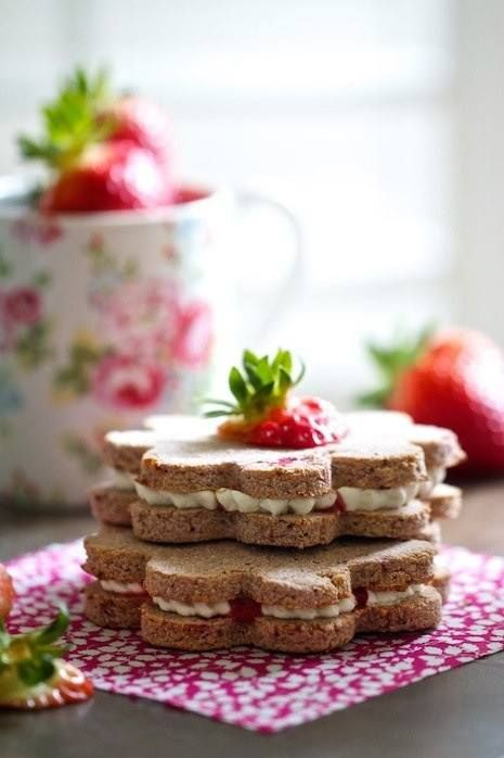 Lovely Tea Sandwiches for tea time ✿