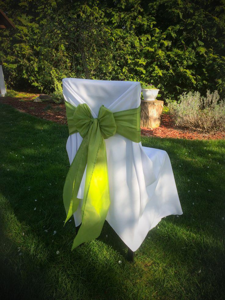 Székszoknya bérlés zöld színű masnival Érd