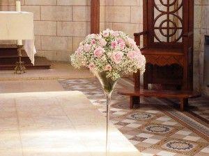 bouquet vase haut