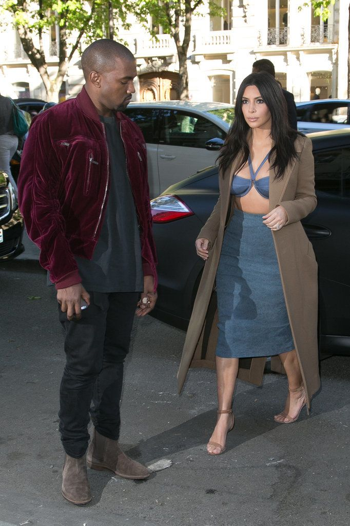 Pictures of Kanye West Checking Out Kim Kardashian | POPSUGAR Celebrity Photo 4