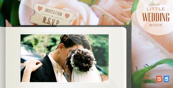 25+ Best Responsive HTML5 Wedding Templates