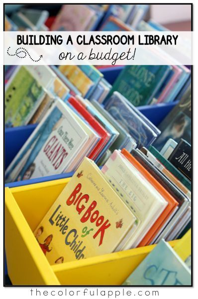 You don't need to break the bank to fill your classroom bookshelves with quality reading material for your students. These are some ideas for organizing your class library for cheap!