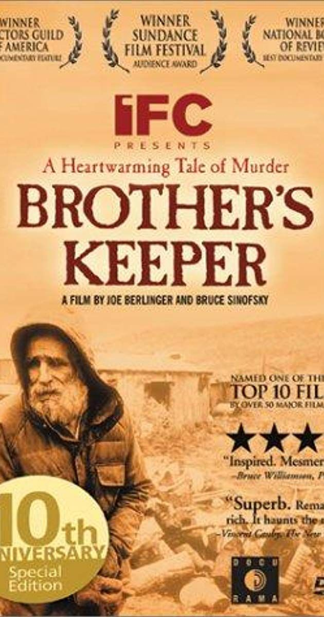 Brother's Keeper (1992) - IMDb | Movies in 2019 | Documentary film