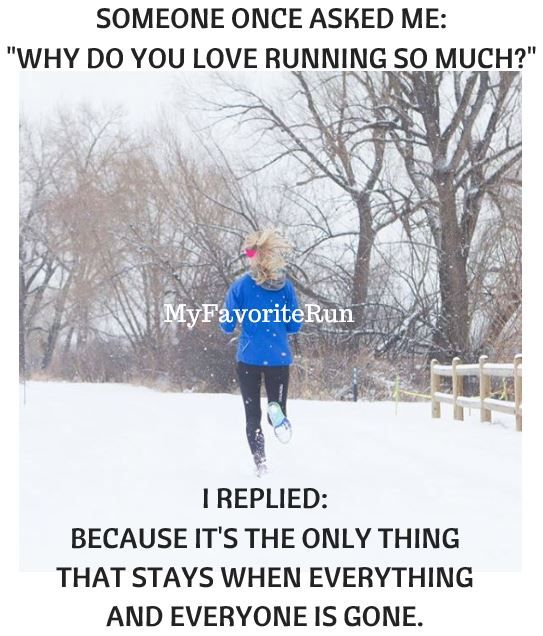 """SOMEONE ONCE ASKED ME: """"WHY DO YOU LOVE RUNNING SO MUCH"""