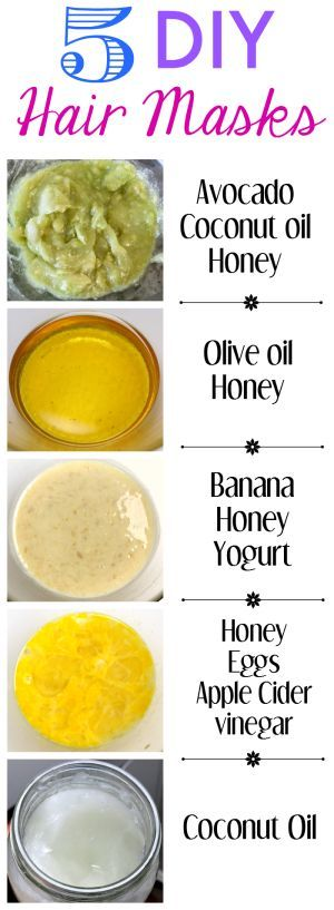 5 easy DIY hair mask recipes  #haircare #haircaretips #healthyhair  http://www.atalskinsolutions.com: