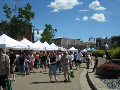 St. Albert Farmers Market. St. Albert Alberta Canada  ... I remember many trips to this farmers market! Our third child was born while we lived in St. Albert.