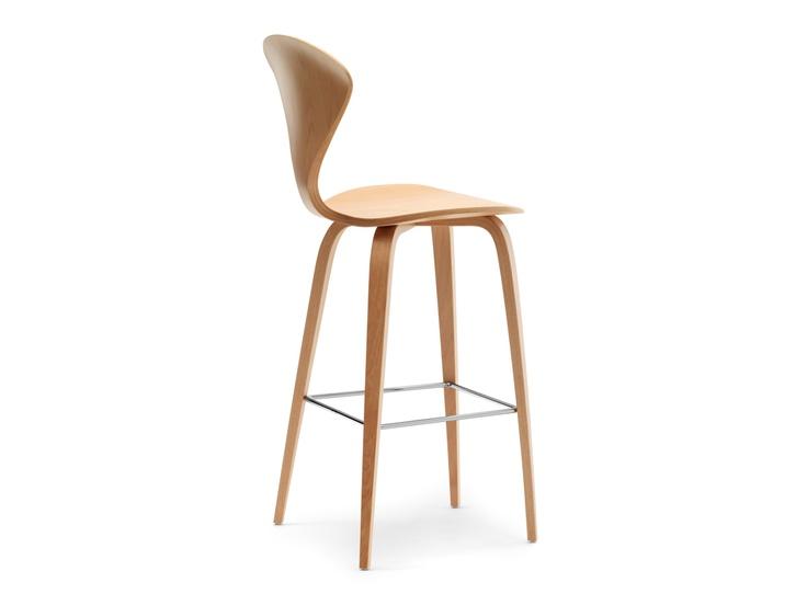 cherner bar stool with wooden base counter bar barbar
