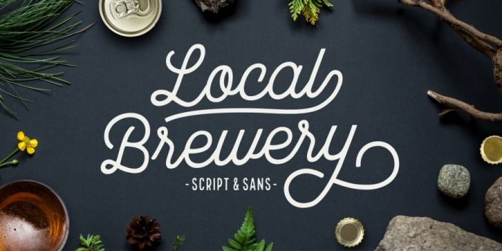 Local Brewery Font DOWNLOAD | Best Fonts | Local brewery