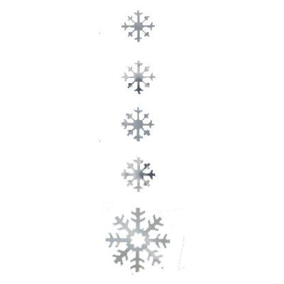 Zilveren sneeuwvlok hangdecoratie. Versier uw huis met kerst met deze…