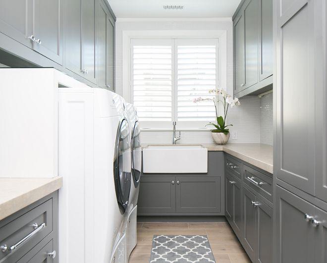 Best 25 Grey Laundry Rooms Ideas On Pinterest Bathroom Paint Colours Bathroom Paint Design
