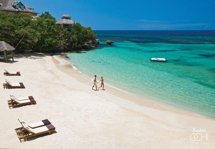 Sandals Ochi Beach  Ocho Rios, Jamaica www.DreamVacationsKC.Com
