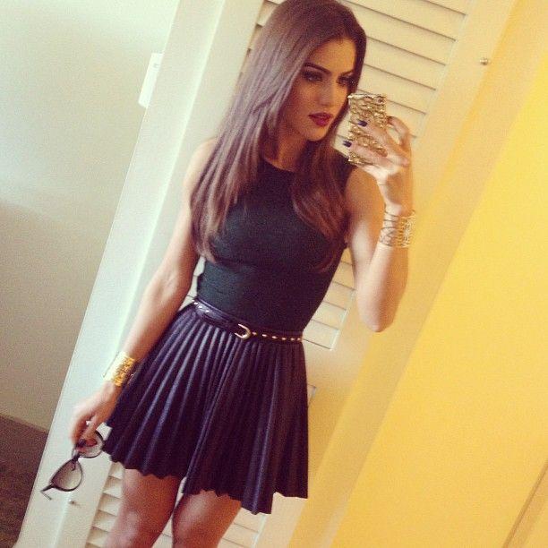 Camila Coelho- Hair length goal
