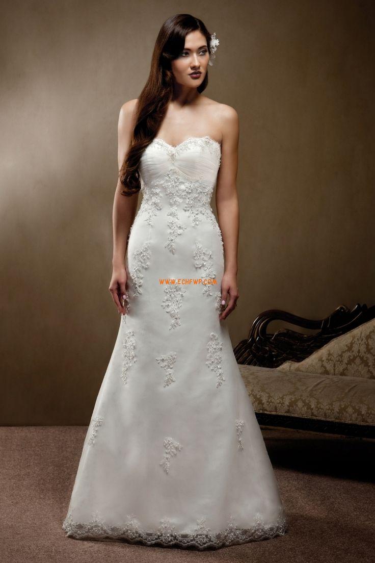 Kyrka A-linje Vår 2014 Lyx Bröllopsklänningar