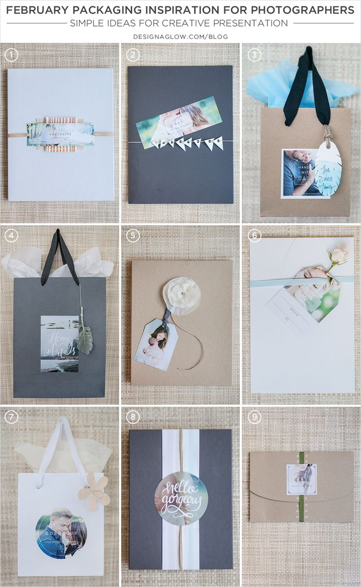 february packaging inspiration for photographers