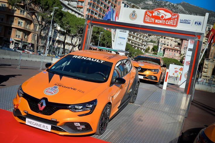 A Renaul Sport négy Megane R.S.-t adományozott a Monakói Autóklubnak