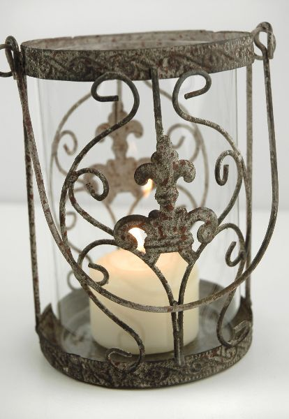 Juliet hanging lantern (can be used as a vase)