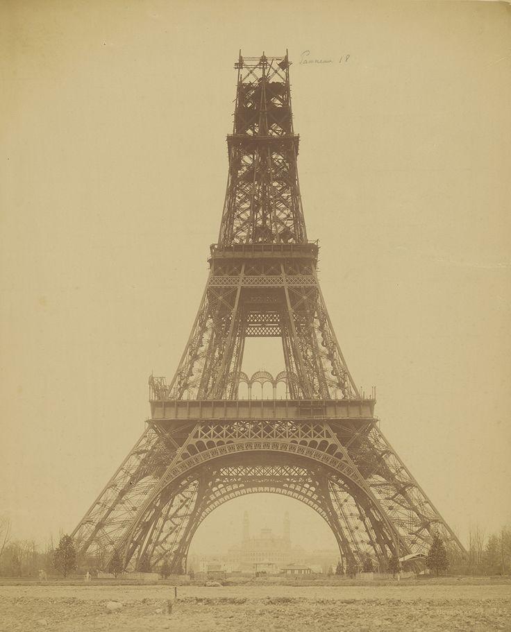 The Eiffel Tower: State of Construction, 1888, Louis-Emile Durandelle. J. Paul Getty Museum.