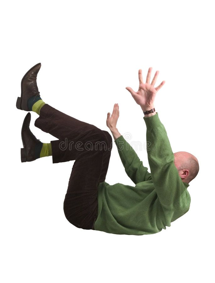 Man Falling Man In Green Jumper Lying On His Back Legs And Arms In The Air Affiliate Green Jumper Man Falling Common Fears Fear Of Flying Image