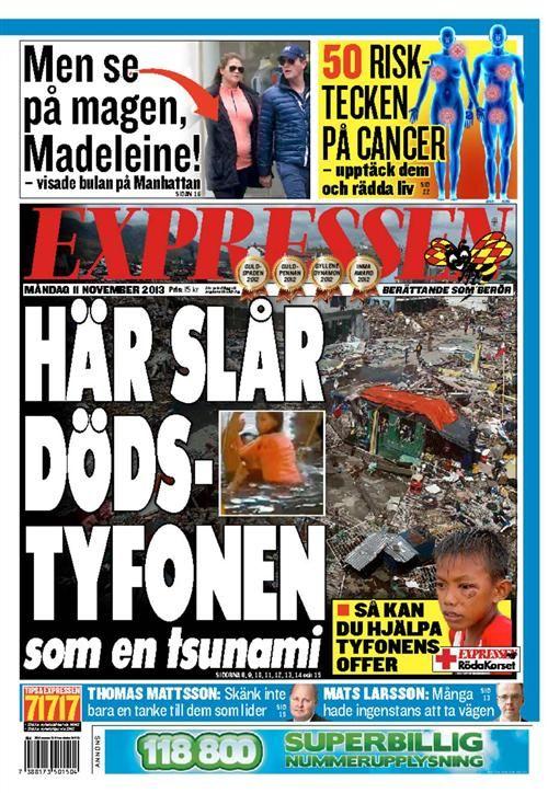 Dagens Expressen Expressen Senaste nytt Nyheter