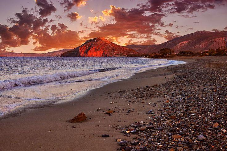 Kouremenos beach, Sitia