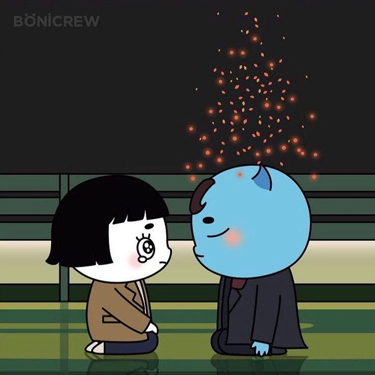 Even this cute cartoon can make me sad