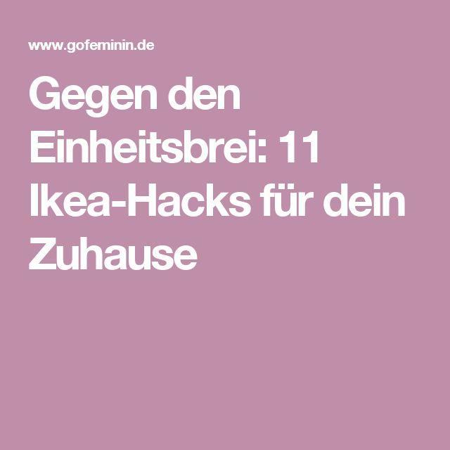 Gegen den Einheitsbrei: 11 Ikea-Hacks für dein Zuhause