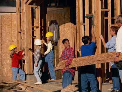 kidvolunteerhabitat Top Spots To Volunteer With Your Kids In Denver