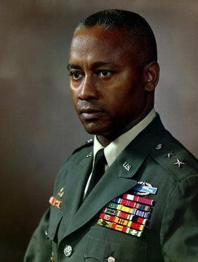 First Black To Lead Army Division April 19, 1960 Maj. Gen. Frederic E. Davidson assumed command of the Eighth Infantry Division in Germany and became the first Black to lead an army division.