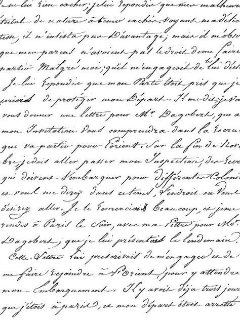 French script paper-background