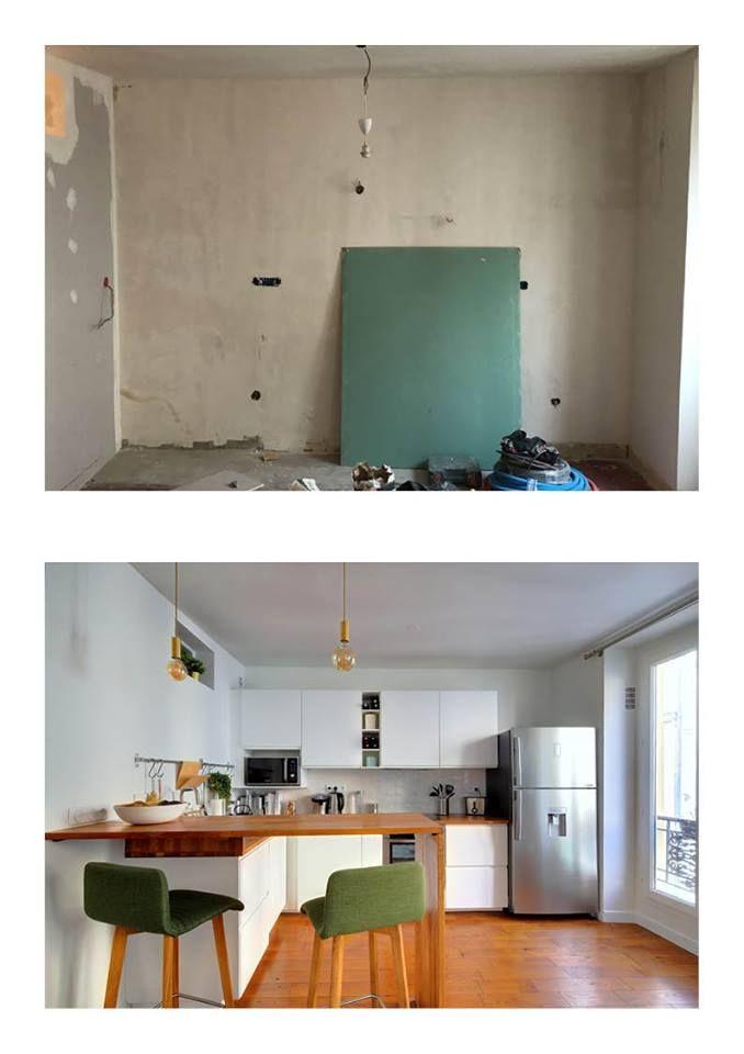 Renovation Totale D Un Appartement De 50m2 A Paris Bastille Avec