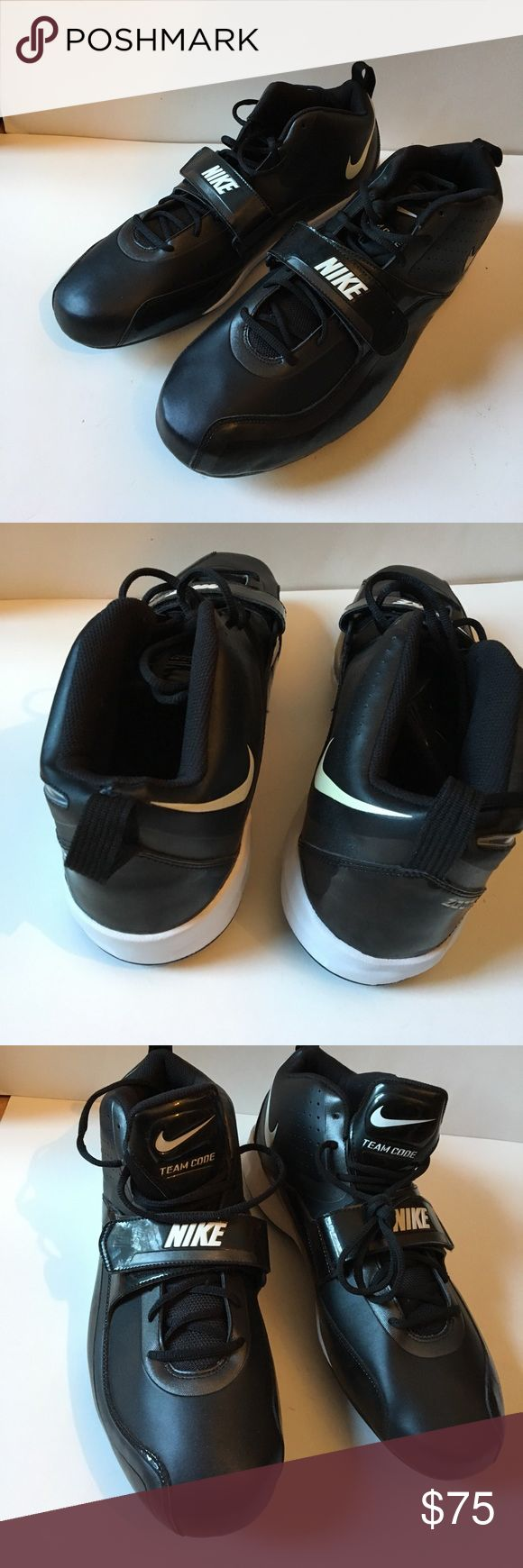 Nike Zoom Football Cleats Size 16 New Very Comfy Size 16 Nike Zoom Cleats Never worn Brand New Just need To buy Cleats for bottoms depending on which turf you will wear them on. Easy to buy online. Great Football shoe Great for Football practice Nike Shoes Athletic Shoes