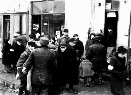 Scenes from Lublin Ghetto, Poland, 1940-1941.