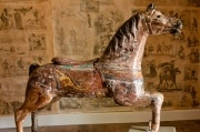19th Century Carousel Horse: Carousels Horses, Wooden Horses, Carousel Horses