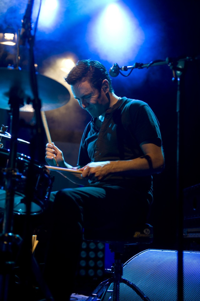 Glen Power - drumming