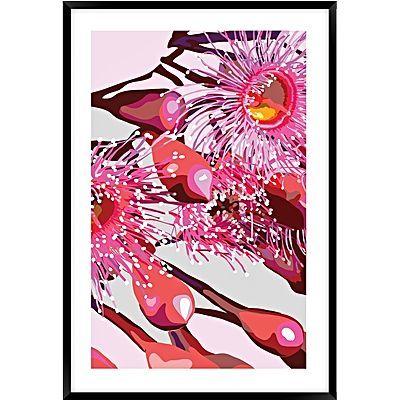 Pink Gum #4 Framed Wall Art