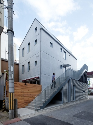 H-House by TOFU architects @ Shiga, Japan...