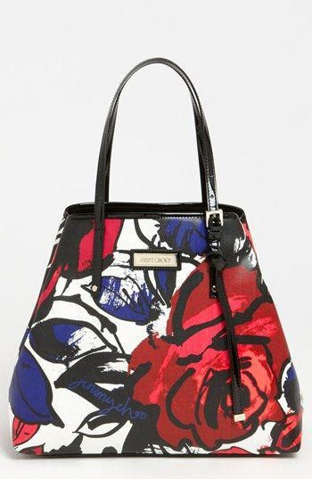 01f063996d1f Jimmy Choo Sasha Floral Tote available at  Nordstrom  JimmyChoo ...