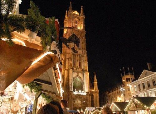 Gent krijgt unieke ijspiste tijdens de Winterfeesten - Reisnieuws - Reizen - KnackWeekend.be