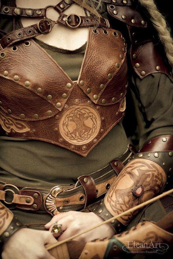 Mirkwood Elf Armor Vest by ElficWearShop on Etsy