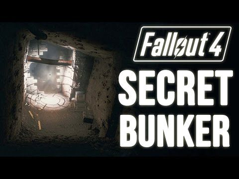 Fallout 4 Easy to MISS Hidden Location (A Secret Bunker Location Unmarked) - YouTube
