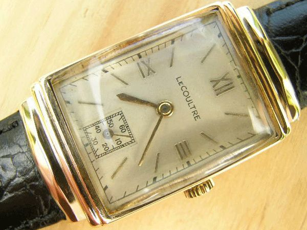 Vintage Jaeger LeCoultre Gold Watches For Sale UK   Vintage Watches